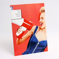 Xerox Digiboard A4 Showcard 210x297mm 1 per SRA3 sheet 210gsm 003R96916 - Pack 100 sheets