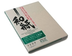 Awagami Bizan Medium Inkjet Paper Natural 210x594mm 200gsm IJ-3228 - Pack 5 Sheets