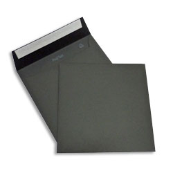 PopSet Black Envelope Superseal 120gsm Square 170x170mm - Box 250