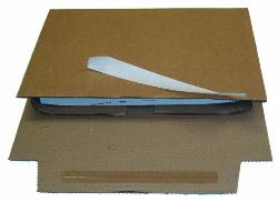 Corrugated Book Wrap 217 x 155 x 60mm A5 - Pack 20