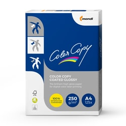 Color Copy Coated Glossy Card (Pk=250shts) FSC A4 250gsm - Box 4 Packs