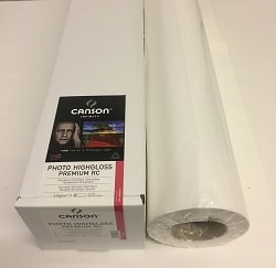 Canson Infinity Photo HighGloss Premium RC Inkjet Paper (44in roll) 1118mm x 15m 315gsm 200002301 - Each Roll