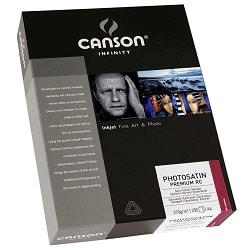 Canson Infinity PhotoSatin Premium RC Inkjet Paper A3 270gsm 206231010 - Pack 25 Sheets