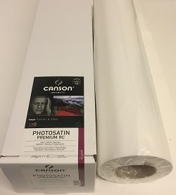 Canson Infinity PhotoSatin Premium RC Inkjet Paper (24in roll) 610mm x 30m 270gsm 206232005 - Each Roll