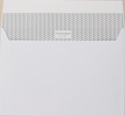 Communique Envelopes Peel and Seal Wallet White 100gsm C5 162 x 229mm - Box 500