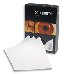 Conqueror Digital High Speed Laser Laid Paper Brilliant White Watermarked FSC A4 90gsm - Box 5 Reams