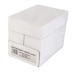 Opportunity White Laser Paper A4 75gsm - Box 5 Reams