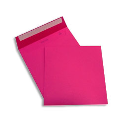 PopSet Cosmo Pink Envelope Superseal 120gsm Square 170x170mm - Box 250