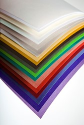 Curious Translucents - Colours Flame FSC B1 (700x1000mm) 100gsm - Pk 250 Sheets