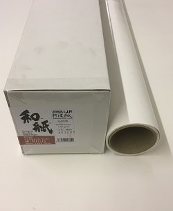 Awagami Kozo Thick White Inkjet Paper (44in roll) 1118mm x 15m 110gsm IJ-0335 - Each Roll