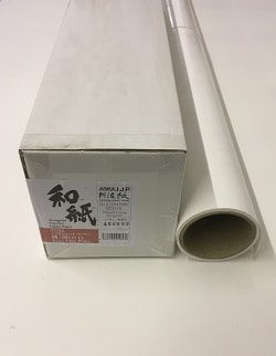 Awagami Kozo Thin White Inkjet Paper (44in roll) 1118mm x 15m 70gsm IJ-0315 - Each Roll