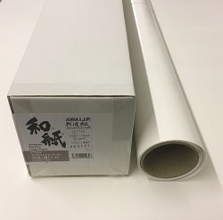 Awagami Unryu Thin Inkjet Paper (24in roll) 610mm x 15m 55gsm IJ-1116 - Each Roll