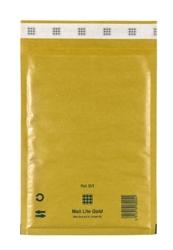 Mail Lite Padded Bubble Envelopes Gold Ref D/1 180x260mm - Box 100