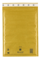 Mail Lite Padded Bubble Envelopes Gold Ref G/4 240x330mm - Box 50