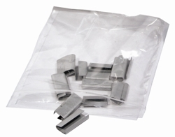 "Plain Grip Seal Bags Size GL04 3.5"" x 4.5"" (90x115mm) - Box 1000"