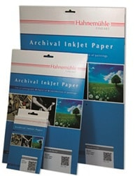 Hahnemuhle Archival Inkjet Paper Glossy A4 280gsm 10647521 - Pack 10 Sheets