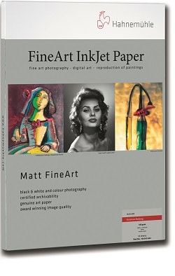 Hahnemuhle German Etching Inkjet Paper A3+ (330x483mm) 310gsm 10641641 - Pack 25 Sheets