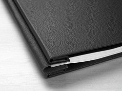 Hahnemuhle Leather Photo Album Cover Classic Black A4 10640740 - Each
