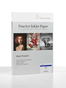 Hahnemuhle Photo Rag Inkjet Paper A3+ (330x483mm) 308gsm 10641617 - Pack 25 Sheets