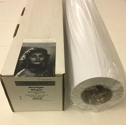 Hahnemuhle Rice Inkjet Paper (36in roll) 914mm x 30m 100gsm 10643803 - Each Roll