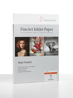Hahnemuhle William Turner Inkjet Paper A3+ (330x483mm) 190gsm 10641625 - Pack 25 Sheets