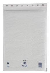 Mail Lite Padded Bubble Envelopes White Ref J/6 300x440mm - Box 50
