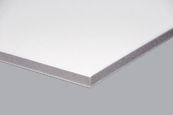 Kapa Plast foam board (grey centre) white 1000x1400mm 5.0mm thickness - Pack 24 Sheets