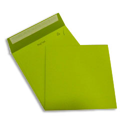 PopSet Lime Tonic Envelope Superseal 120gsm Square 170x170mm - Box 250