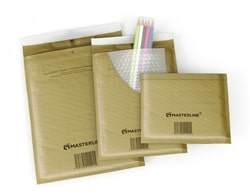 Masterline Bubble Lined Envelopes Gold Ref C/0 140x195mm - Box 100