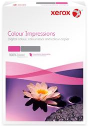 Xerox Colour Impressions Card (Pk=250shts) PEFC A4 250gsm 003R98687 - Box 4 Packs