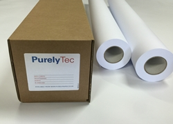 PurelyTec CAD Archival Inkjet Tracing Paper 610mm x 45m  112gsm - Each Roll