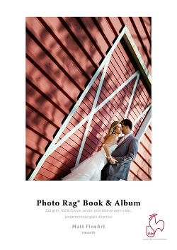 Hahnemuhle Photo Rag Book and Album Inkjet paper A3+ (483x330mm) 220gsm 10641692 - Pack 25 Sheets