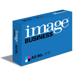 Image Business Multifunction Paper 2-Hole Punched (Long Side) FSC A5 80gsm - Box 10 Reams
