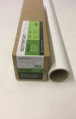 Somerset Enhanced Satin Inkjet Paper (44in roll) 1118mm x 20m 330gsm - Each Roll