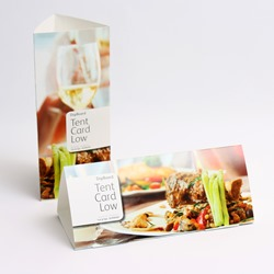 Xerox Digiboard Tent Card Low 210 x 90 x 80mm 2 cards per SRA3 sheet 210gsm 003R96909 - Pack 100 sheets