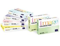 Image Coloraction Coloured Card (Pk=250shts) Pale Yellow (Desert) A4 160gsm   - Box 5 Packs