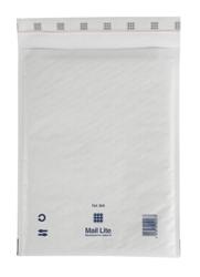 Mail Lite Padded Bubble Envelopes White Ref G/4 240x330mm - Box 50