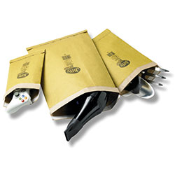 Jiffy Padded Bag PB5 245mm x 381mm Gold - Box 100