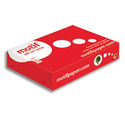 Motif All-In-One Multifunctional paper FSC A4 80gsm - Box 5 Reams