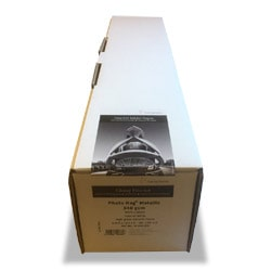 Hahnemuhle Photo Rag Metallic Inkjet Paper (50in roll) 1270mm x 12m 340gsm 10643570 - Each Roll