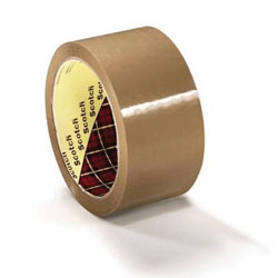 3M Scotchpro Buff Tape Ref 371 48mm x 66mtrs  - Box 36 Rolls