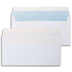 Thames Peel and Seal Business Envelope White 100gsm DL 110 x 220mm - Box 1000