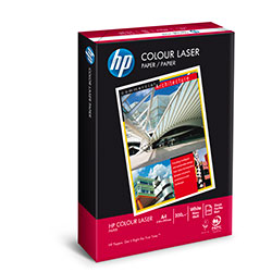 HP Colour Laser Paper (Pk=250shts) (HP Code = CHP340) A4 120gsm - Box 8 Packs