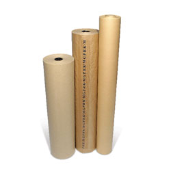MG Pure Ribbed Kraft Paper Counter Roll 900mm x 225m approx 88gsm - Each