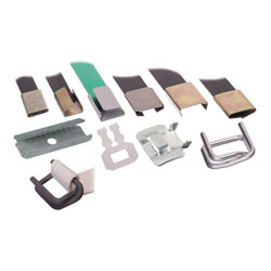Strapping Clips 12mm Semi Open (Steel) - Box 2000