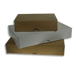 A4 Stationery Boxes (White) 305 x 216 x 57mm  - Box 50