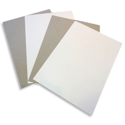 Eska One Sided White Lined Greyboard 635x890mm 785gsm / 1200 microns - 50 Sheets