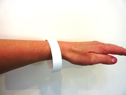XE Matt White Digital Waterproof Wristbands 10 up on A4 120 micron (160gsm)  - Box 100 sheets