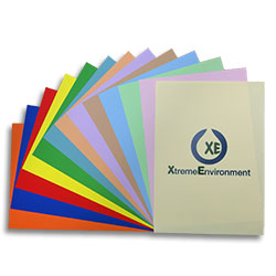XE Waterproof Laser Paper Pastel Orange A3 130 micron (170gsm) - Box 100 sheets